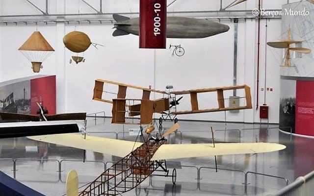 Algunsprotótipos de avião do Museu da TAM