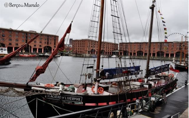 The Beatles Story fica no Albert Dock
