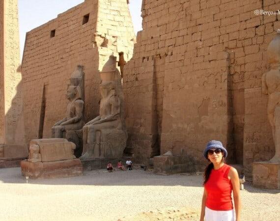 Entrada do Templo de Luxor
