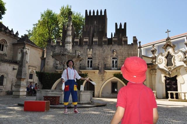 O castelo de Guimarães em miniatura