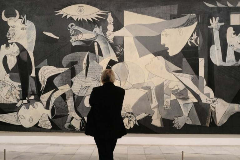 Guernica no Museu do Prado