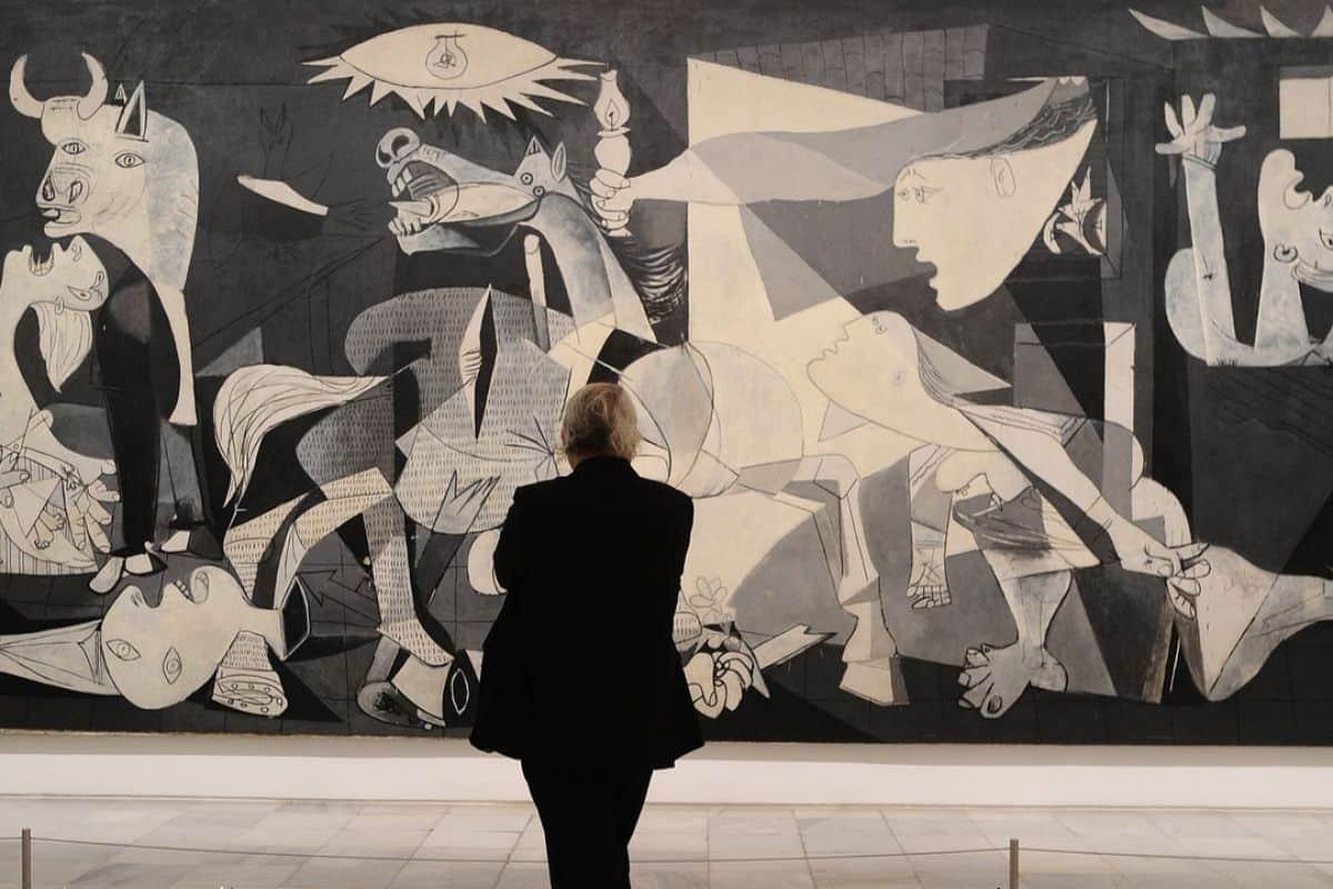 Guernica no Museu do Prado
