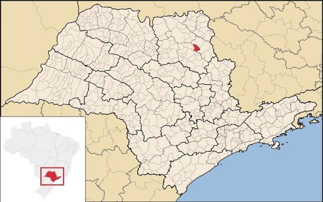 Brodowski no mapa