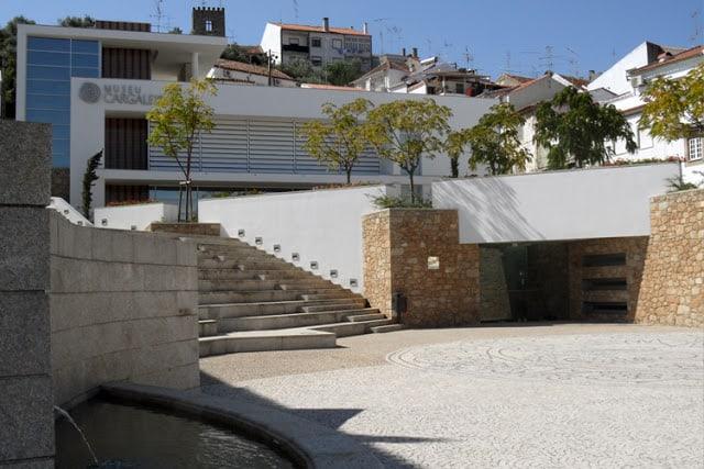 exterior do Museu Cargaleiro