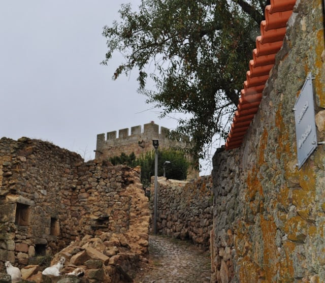 muralha em Pinhel