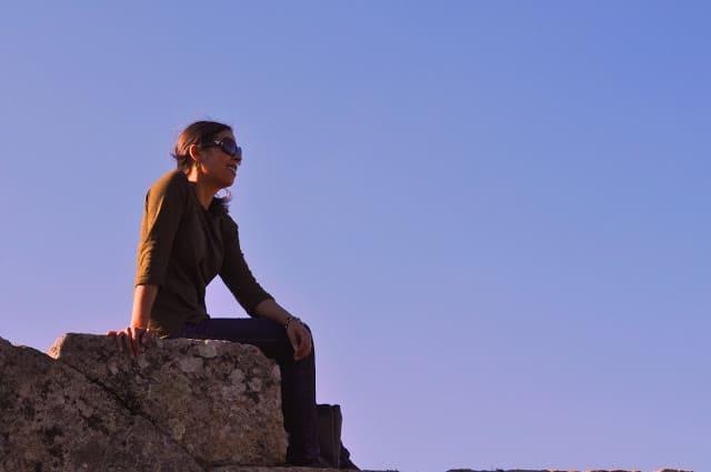 paisagem bucólica em redor de Castelo Mendo