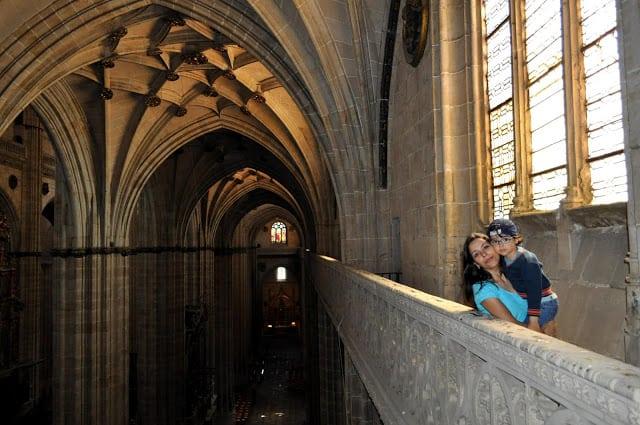 subindo aos telhados da catedral