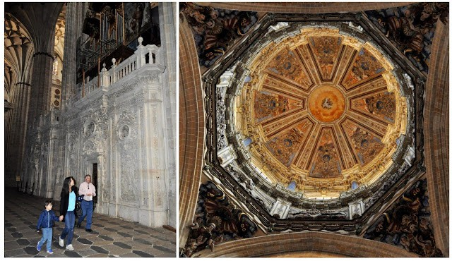 cúpula da catedral nova de Salamanca