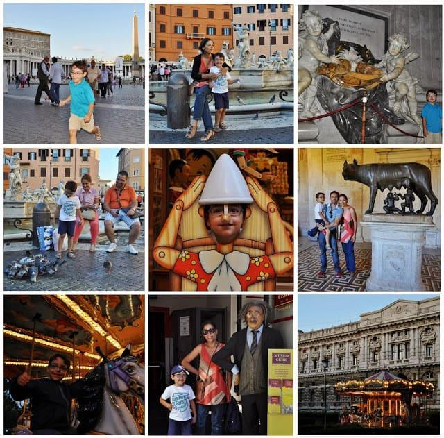 Crianças em Roma