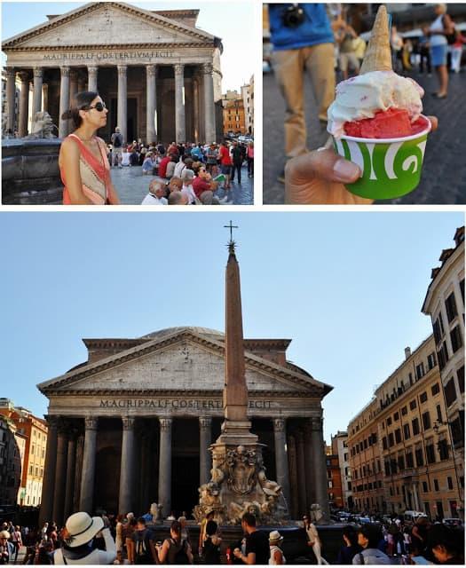 O Panteão é indispensável num roteiro em Roma