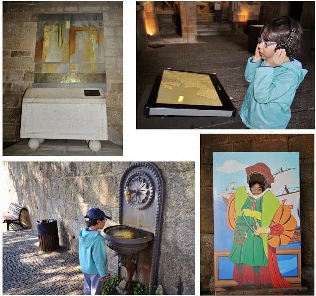 detalhes dos museus de Belmonte