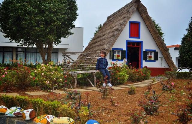 Casinhas de Santana na Madeira