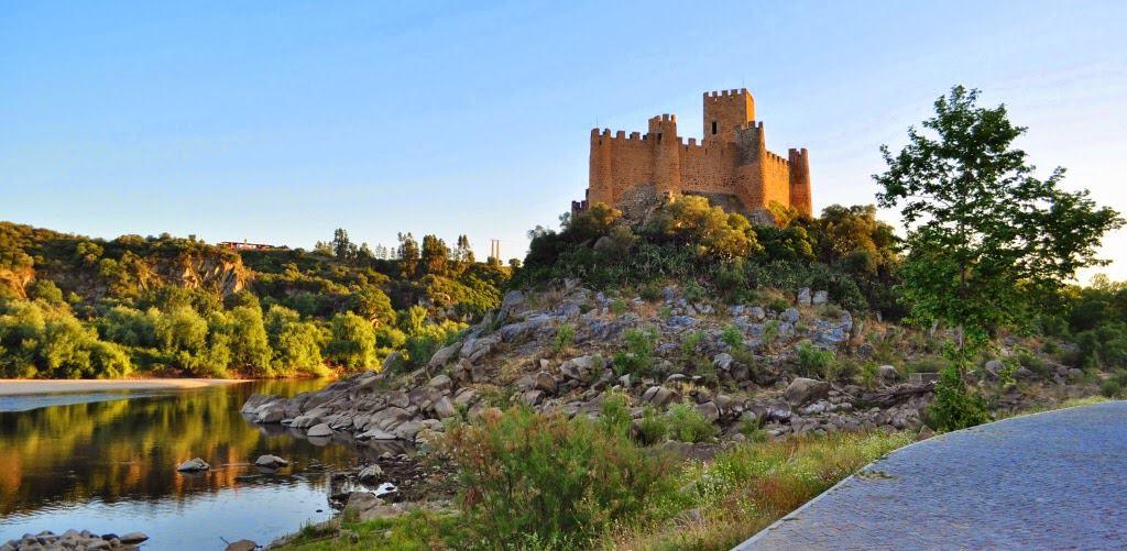 Castelo de Almourol no Tejo