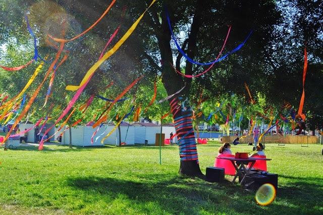 O Parque ficou lindo neste Dia da Criança