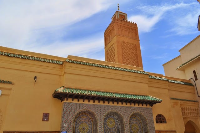 mesquita em Oudja