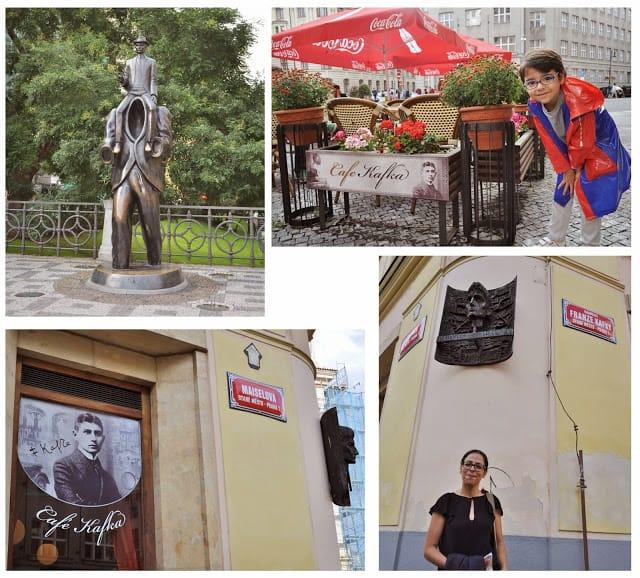 lugares por onde Kafka passou