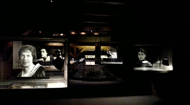 interior do museu Kafka