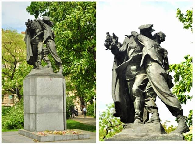 """estátua do """"libertador soviético"""""""