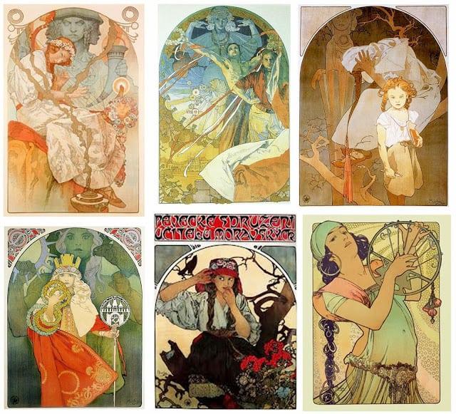 O povo checo em cartazes de época