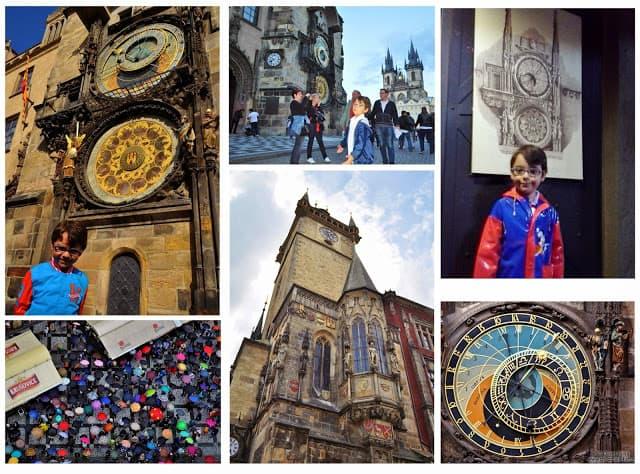 O relógio astronómico de Praga