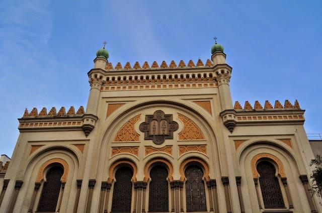 Sinagoga de Praga, do bairro onde Kafka morou