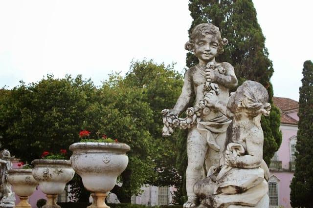 jardins do Palácio de Queluz