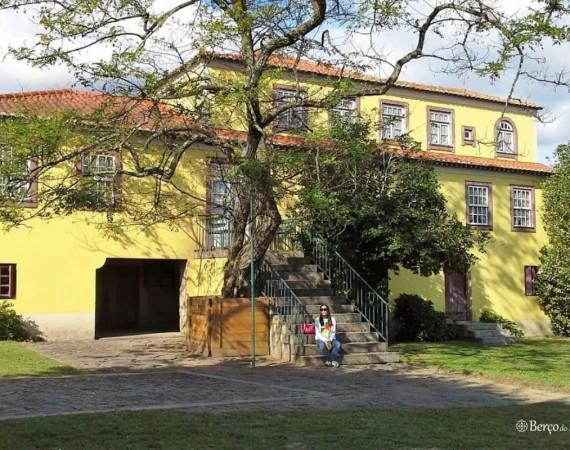 fachada da casa de Camilo