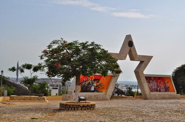Forte de S. Miguel em Luanda