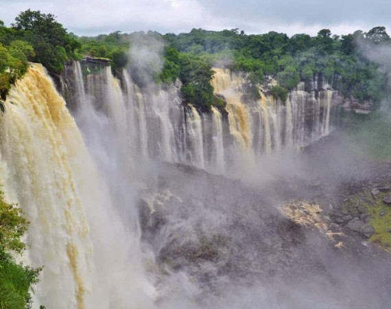 Quedas de Kalandula em Angola