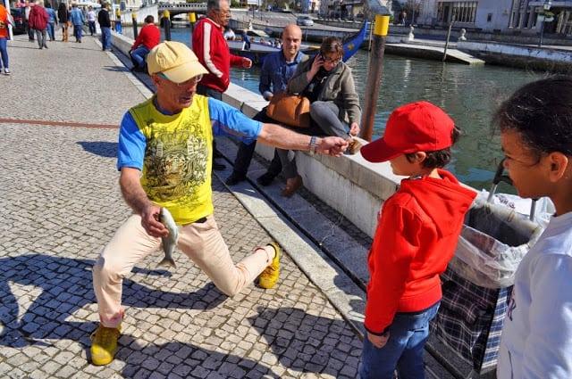 Pescador da ria de Aveiro