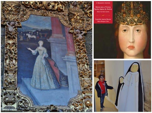 Merchandising da princesa Joana