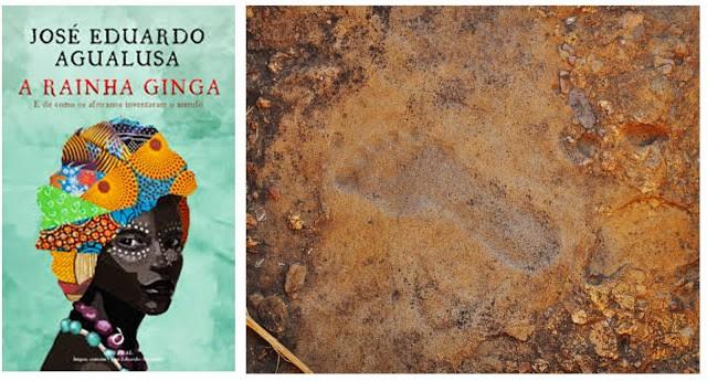O que dizem ser a pegada da rainha Ginga, em Pungo Andongo, província de Malanje