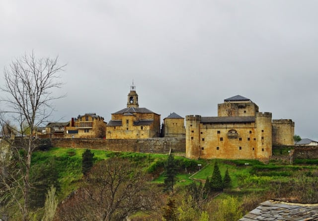 panorâmica de Puebla de Sanabria