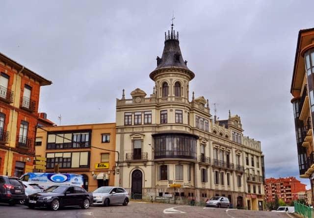 Arquitectura modernista em Astorga