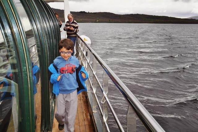 cruzeiro no lago de Sanabria