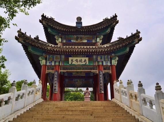 Palácio em Zhuhai na China