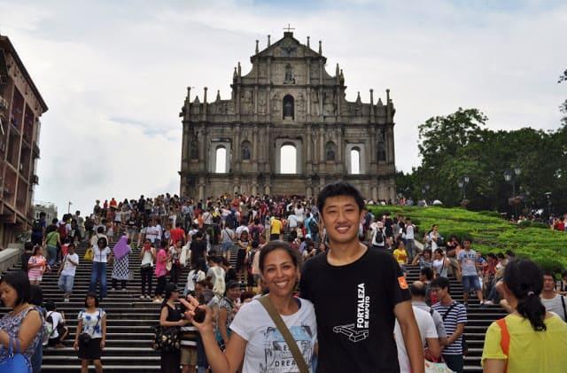 Ruínas de S. Paulo em Macau