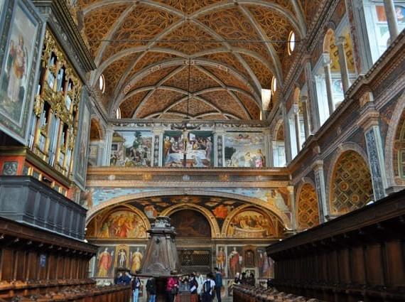 Igreja de S. Mauricio em Milão
