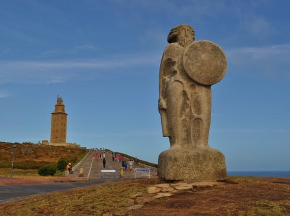 Torre de Hércules na Corunha