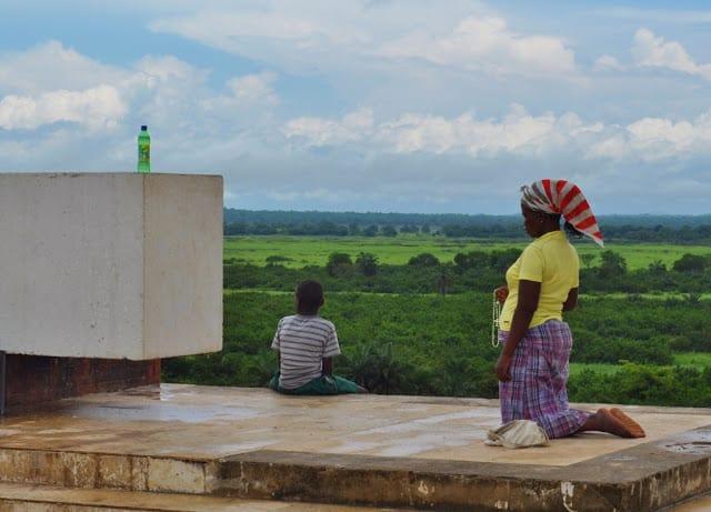 Igreja de Muxima em Angola