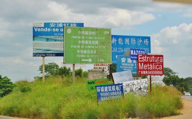 empresas chinesas em Angola