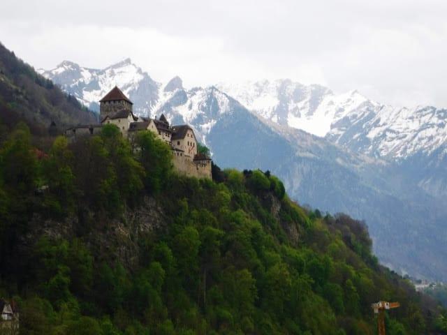 Castelo do Principe de Vaduz, liechtenstein