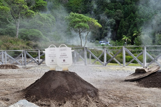 Furnas, nos Açores