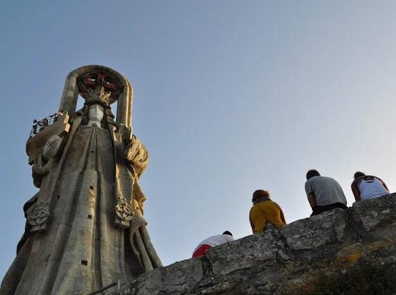 Virgen de la Roca em Baiona