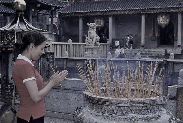 Templo Zumiao em Foshan na China