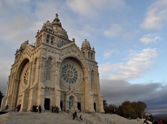 Santuário de Santa Luzia em Viana do Castelo