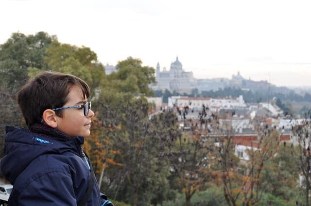 panorâmica de Madrid