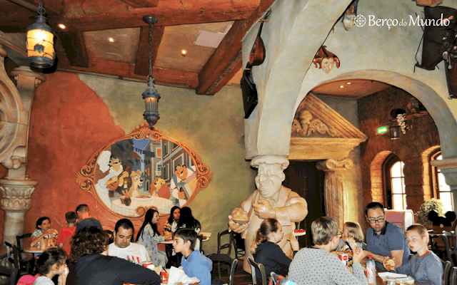 pizzaria na Disneyland Paris