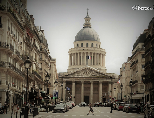 """Panteão de Paris, morada eterna de """"grands hommes"""""""