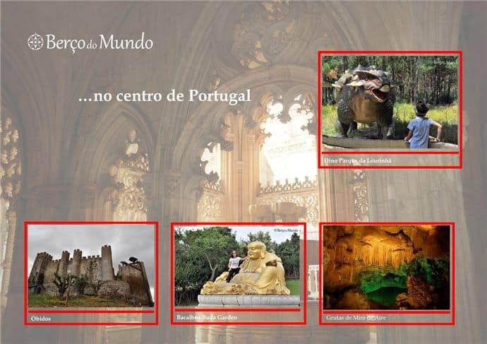 visitar o centro de Portugal